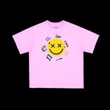 NERVIS PURPLE SMILE PUFF-PRINT TEE