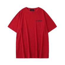 MAYHEM RED CIRCLE LOGO TEE