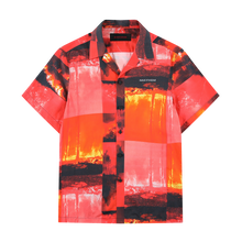 MAYHEM RED HAWAIIAN SHIRT