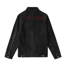 MAYHEM BLACK DENIM JACKET