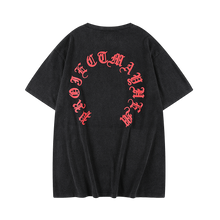 MAYHEM BLACK CIRCLE LOGO TEE