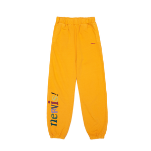 NERVIS YELLOW PUFF-PRINT LOUNGE PANTS