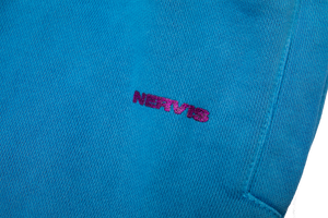 NERVIS BLUE PUFF-PRINT LOUNGE PANTS