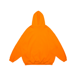 MAYHEM NEON ORANGE REFLECTIVE PRINT HOODIE