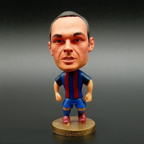 Andres Iniesta, doll - Glocal Cart