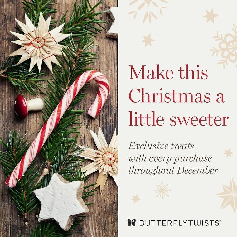 Treat yourself this christmas butterfly twists treat yourself this christmas solutioingenieria Image collections