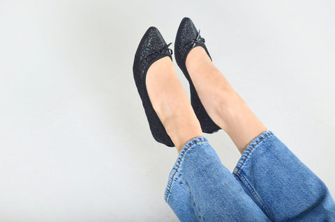 take the weight off your feet with light flats