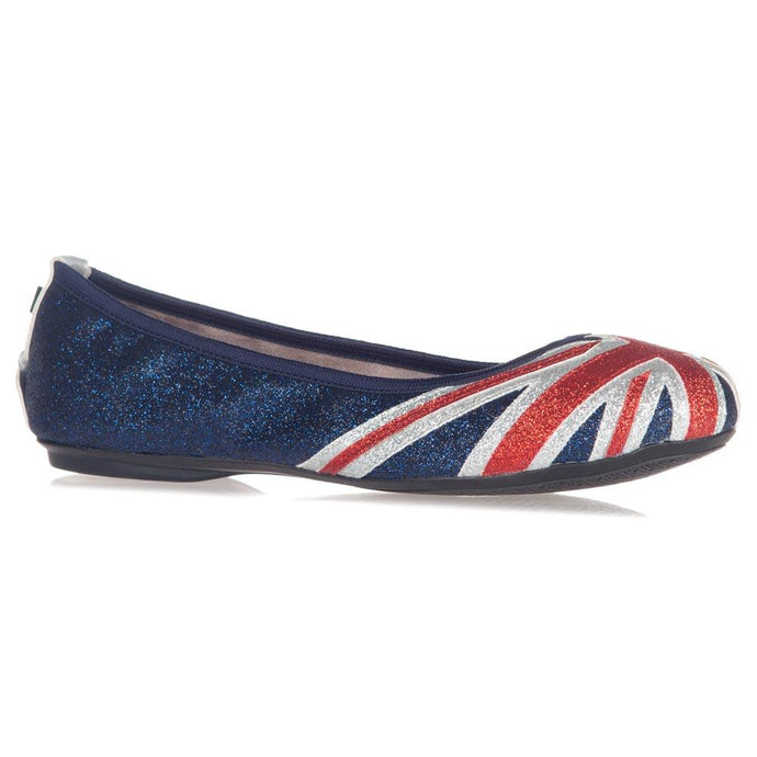 JACQUI RED/WHITE/BLUE GLITTER