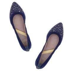 JANEY NAVY CRYSTALS