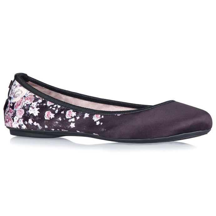 SOPHIA BLACK SCATTERED FLORAL