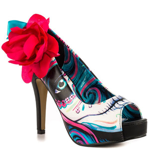 IRON FIST Shipwrecker Peeptoe Platform