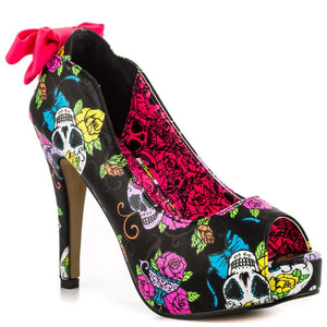 IRON FIST Sweet Tooth Peeptoe Platform