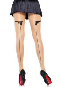 Bullet Backseam Pantyhose