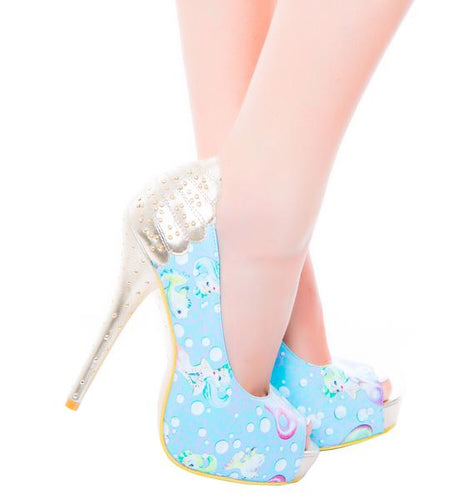 IRON FIST Lollipop Lorelei Peeptoe Platform