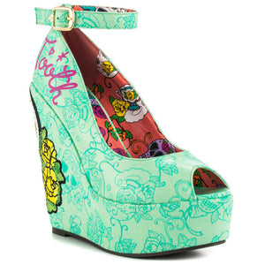 Iron Fist Sweet Tooth Peeptoe Wedges