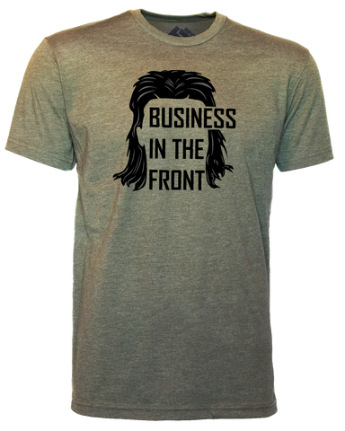 T1C - BUSINESS IN THE FRONT T-SHIRT