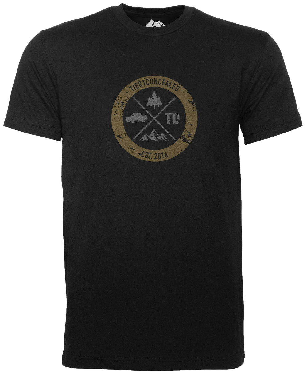 T1C - OUTDOOR BADGE T-SHIRT