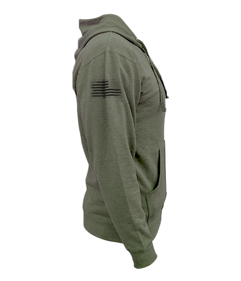 T1C - 3 BAR Zip Up Hoodie