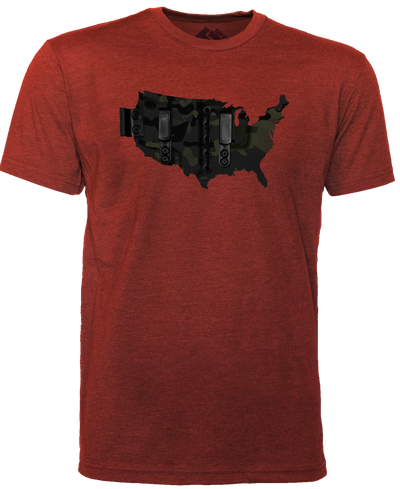 T1C - USA HOLSTER T-SHIRT