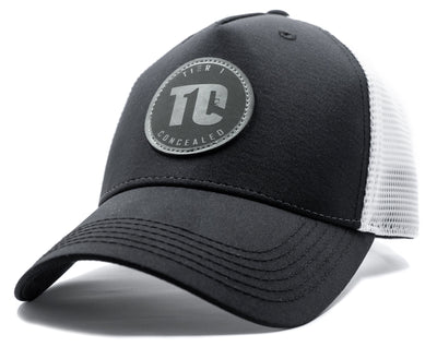 T1C - Grey Patch Trucker Hat