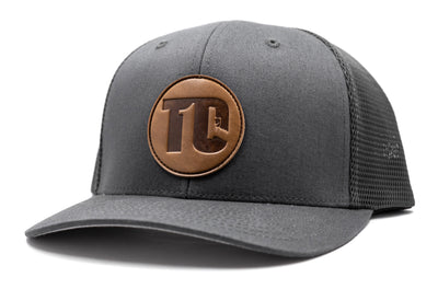 T1C - Leather Patch - Grey
