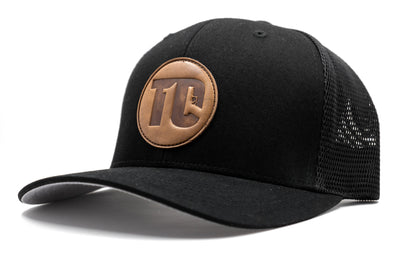 T1C - Leather Patch - Black