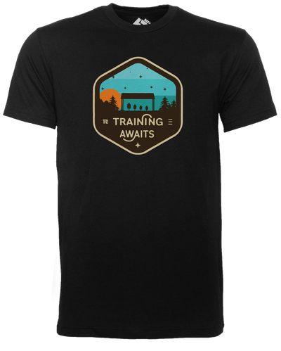 T1C - TRAINING AWAITS T-SHIRT