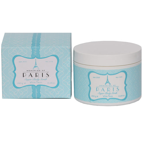 Paris White Fleurs Body Sugar Scrub 10.25 oz