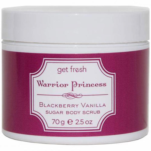 Warrior Princess Sugar Body Scrub - Blackberry Vanilla Travel Size