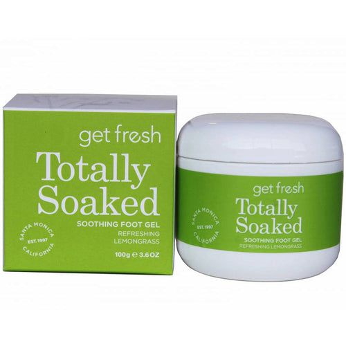 Totally Soaked Softening Foot Gel - Lemongrass