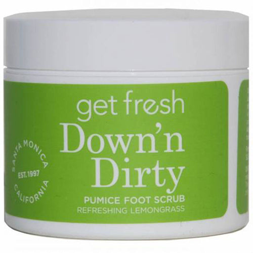 Down'n Dirty Travel Foot Scrub - Lemongrass