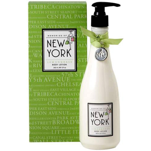 New York Body Lotion - Lemongrass