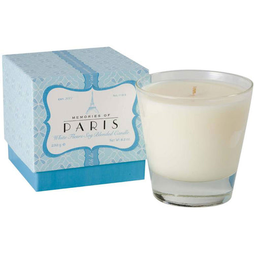 Paris Soy Blended Candle - White Fleurs