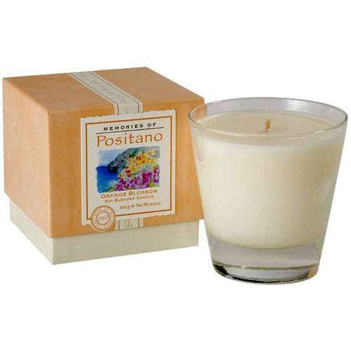 Positano Soy Blended Candle - Orange Blossom