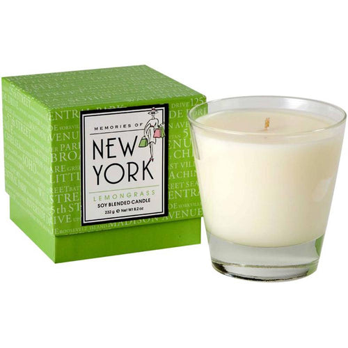 New York Soy Blended Candle - Lemongrass