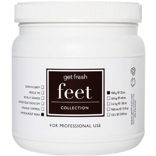 Hand & Foot Soak - Lemongrass 30 oz