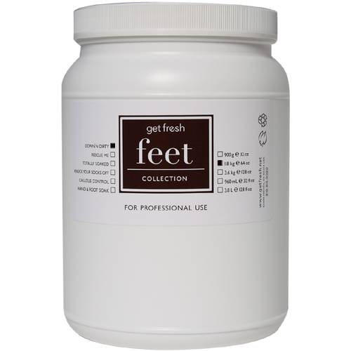 Down'n Dirty Foot Scrub 64 oz