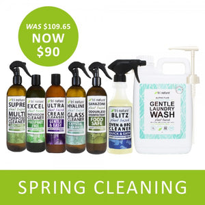 Spring Cleaning Starter Sets