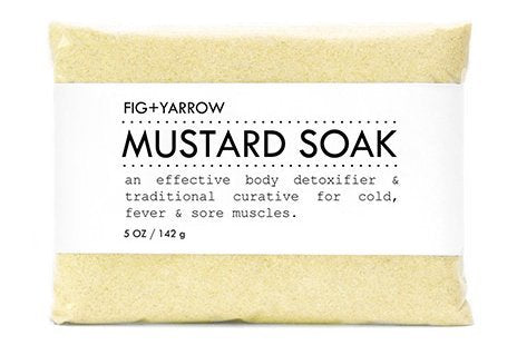 FIG+YARROW Organic Mustard Soak