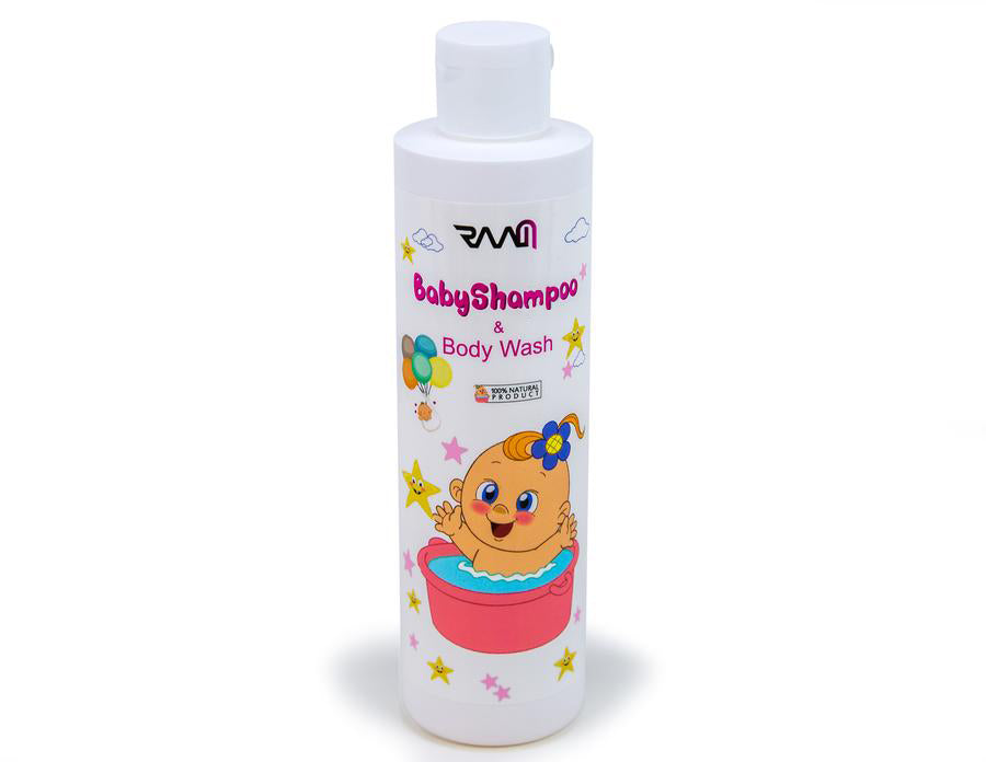 RAAM Gentle Baby Shampoo and Body Wash