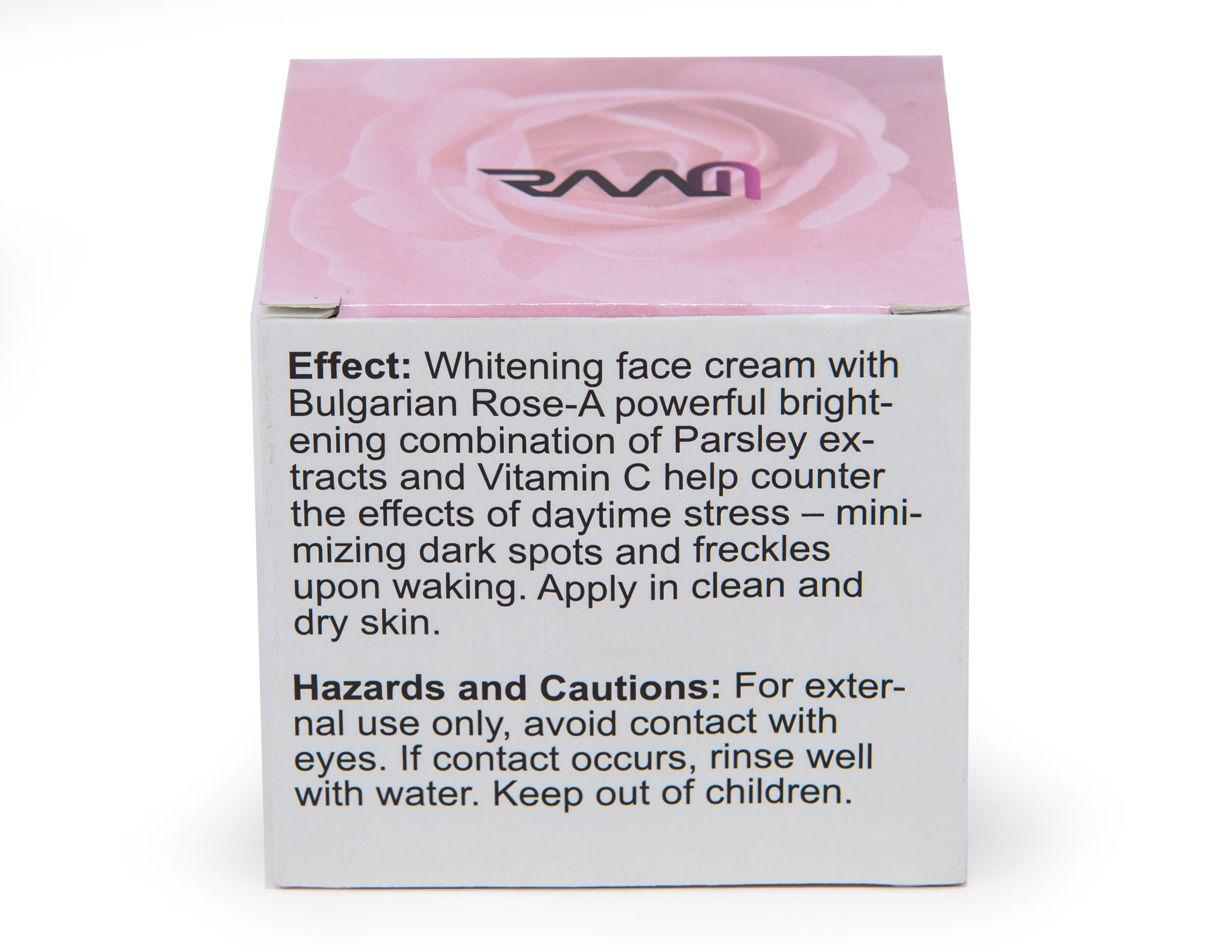 RAAM Natural Face Whitening Cream with Bulgarian Rose