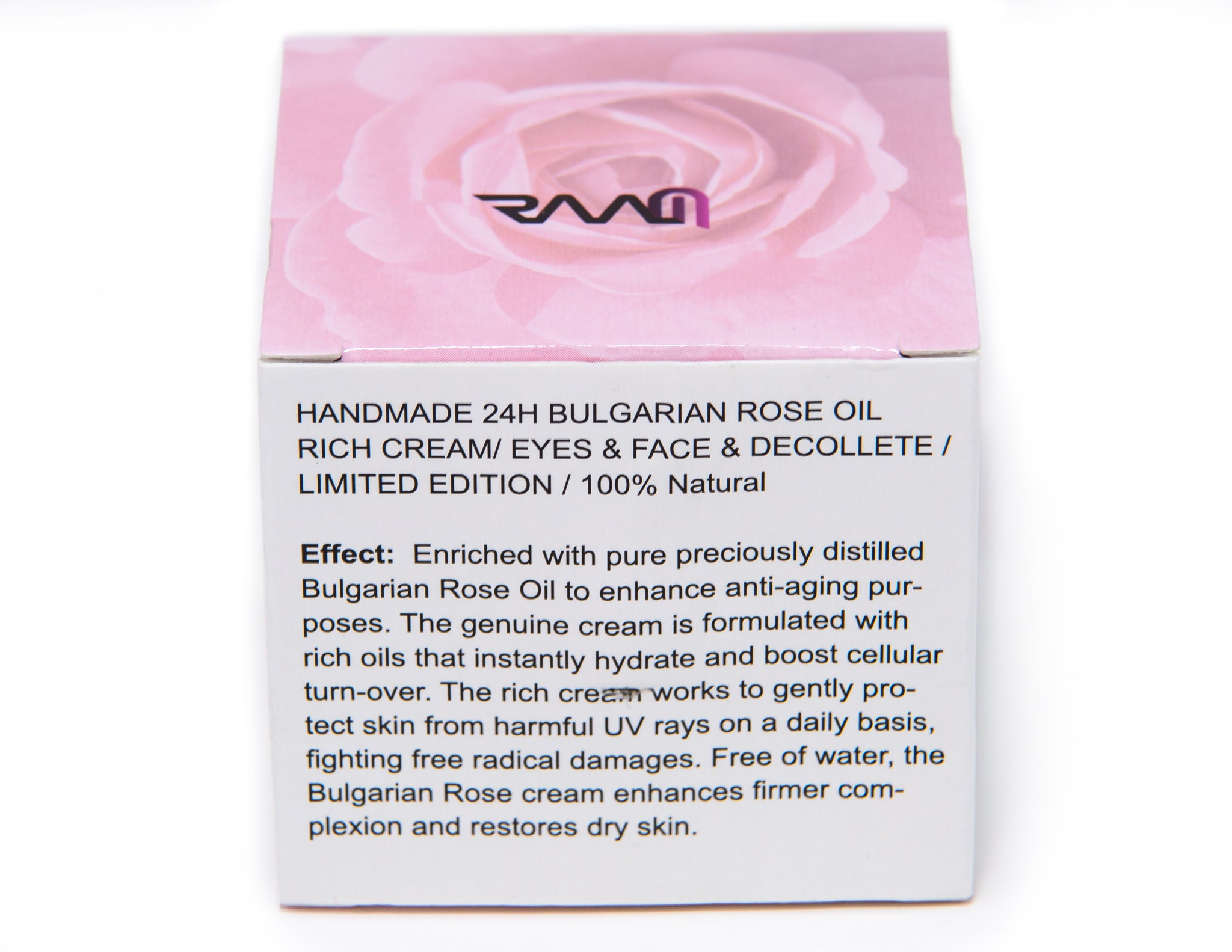 RAAM Natural Eyes, Neck and Decolletage Cream with Bulgarian Rose