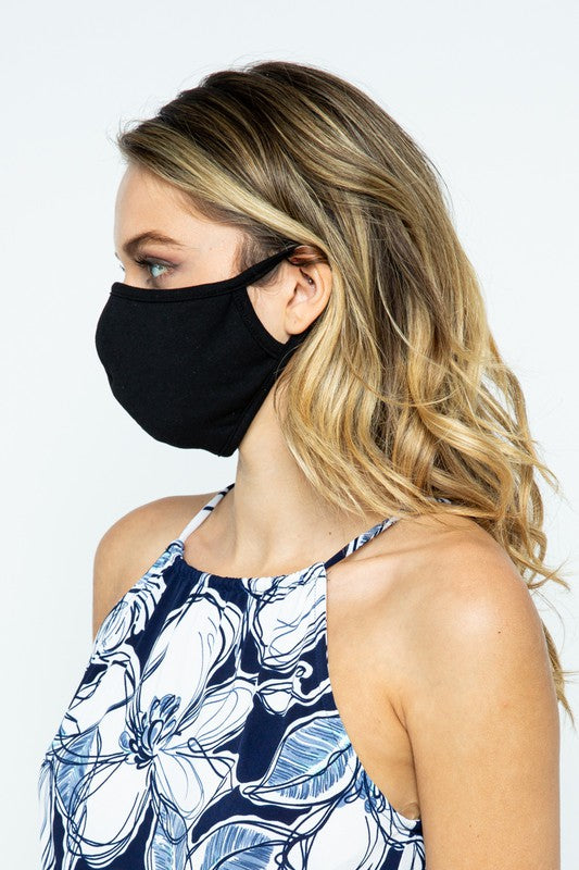 100% Cotton Terry Double Layer Reusable Mask