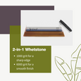 Knife Sharpening Stone | Whetstone | 1000/6000 Dual Grit Water Stone - Vistal Supply
