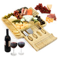 Cheese and Charcuterie Board Gift Set with Cheese Knives - Vistal Supply