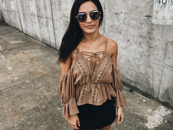 Blouse - Desert Dusk Top