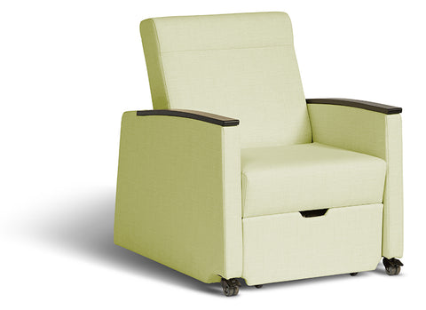 Logic Furniture Refresh Field (Green) Pull Out Sleeper Chair