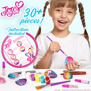 Jojo Siwa Glamorous Rock Painting Kit By Creative Kids