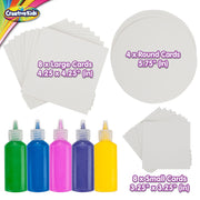 Creative Kids Spin & Paint Refill Pack