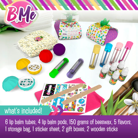DIY Lip Balm Creations Craft Kit for Girls